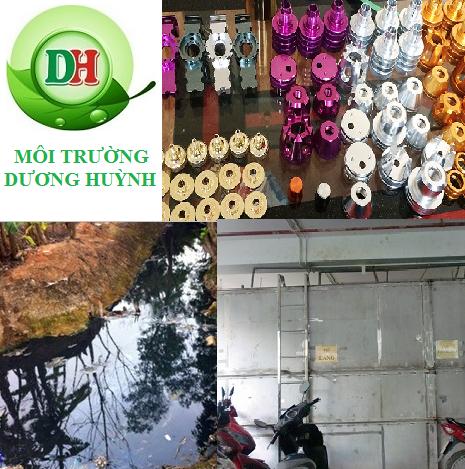 Công ty TNHH Môi Trường Dương Huỳnh xử lý nước thải xi mạ